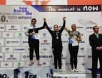 Hidalguenses conquistan podios en el Torneo Abierto de TKD 4