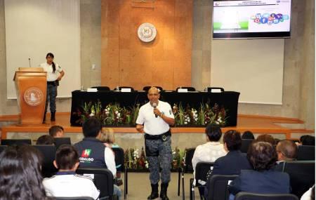 Imparten en el Poder Judicial plática para prevenir delitos cibernéticos