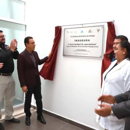 Inaugura el gobernador Omar Fayad, el Centro de Salud 2