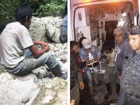 Localizan con vida a hombre que estaba desaparecido en Jacala2