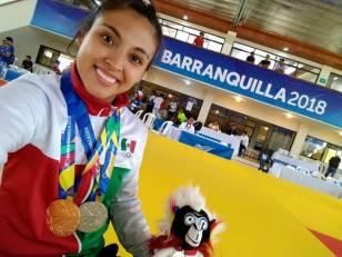 Luz María Olvera contenta por su participación en los Juegos Centroamericanos1