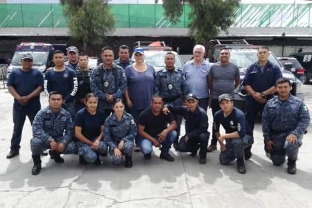 Organización europea capacita a la Unidad Canina de la Policía Estatal de Hidalgo