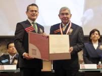 Otorga UAEH Doctorado Honoris Causa al Premio Nobel, Óscar Arias2