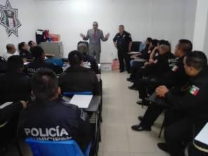 Personal de Seguridad Pública de Tizayuca participa en el curso de 2