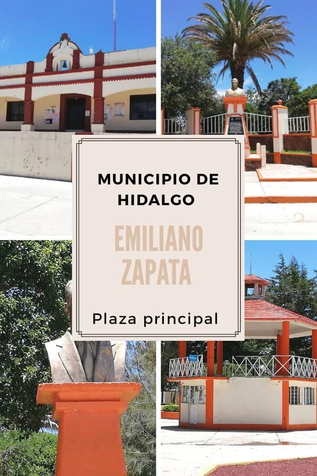 Plaza principal de Emiliano Zapata