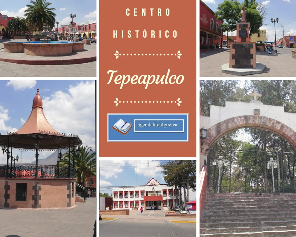 Plaza principal Tepeapulco