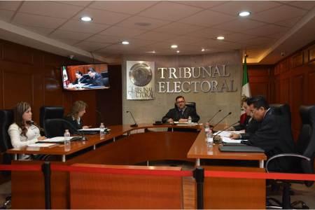 Pleno del TEEH, declara inexistentes violaciones denunciadas a diputados locales