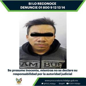 Por feminicidio ocurrido en Tizayuca, un hombre enfrenta proceso penal