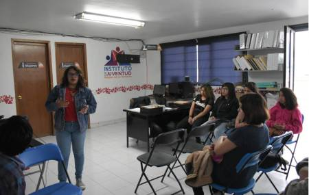 Promueve Instituto Municipal de la Juventud la participación activa de  adolescentes y jóvenes en Mineral de la Reforma1.jpg
