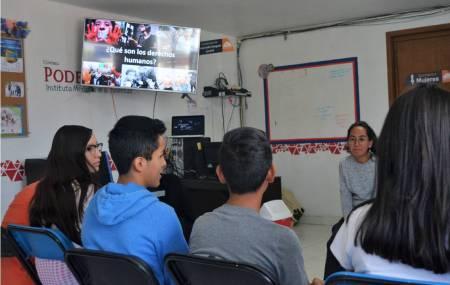 Promueve Instituto Municipal de la Juventud la participación activa de  adolescentes y jóvenes en Mineral de la Reforma2.jpg