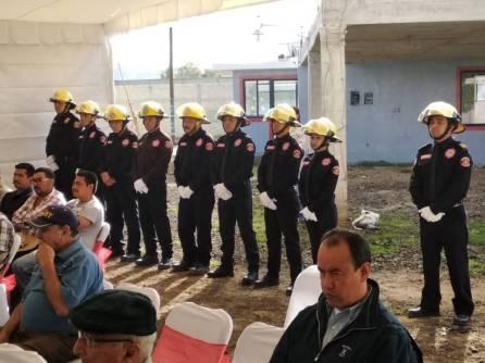 Santiago Tulantepec tiene nueva estación de bomberos 4