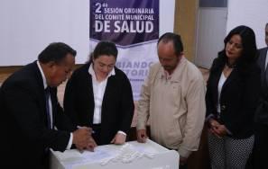 Se realiza la 2da Sesión del Comité Municipal de Salud en Mineral de la Reforma 1