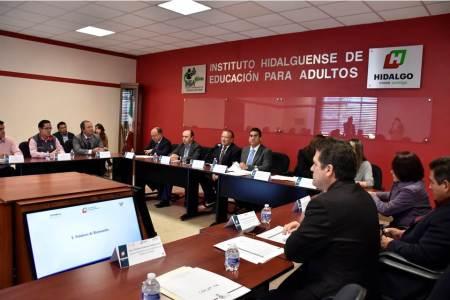 Se reunió la Comisión Estatal para la Planeación y Programación de la Educación Media Superior y Superior2