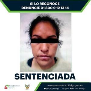 Sentenciada a 11 años 3 meses de prisión por homicidio