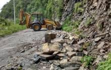 SOPOT trabaja en la extracción de derrumbes en Huehuetla3