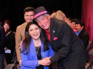 Victoria Ruffo presidió los festejos conmemorativos del Día Nacional de las personas adultas mayores