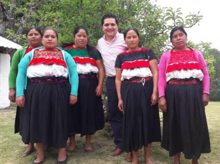 Visibilizar y realizar acciones afirmativas para los pueblos indígenas prioridad para el gobernador Omar Fayad Meneses