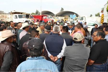 Alcalde de Tizayuca apoya a ejidatarios