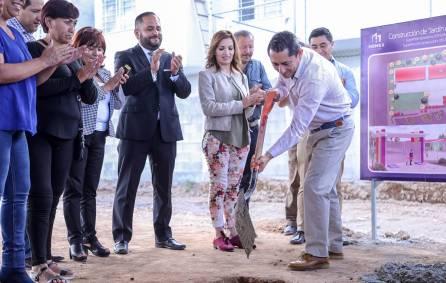 Arranca construcción de preescolar en Mineral de la Reforma2