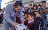Avanza entrega de zapatos escolares en preescolares de Mineral de la Reforma 3