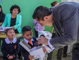Avanza entrega de zapatos escolares en preescolares de Mineral de la Reforma 6