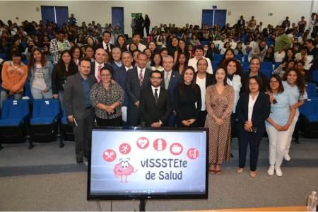 Cierra ISSSTE Hidalgo campaña de mes de la prevención, VISSSTETE de Salud