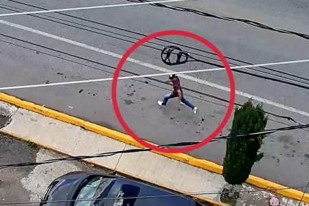 Con videovigilancia y operativo policial, dos detenidos tras persecución en Tulancingo