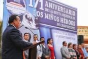 Conmemora Mineral de la Reforma con acto cívico, 171 Aniversario de la Gesta Heroica de los Niños Héroes de Chapultepec1