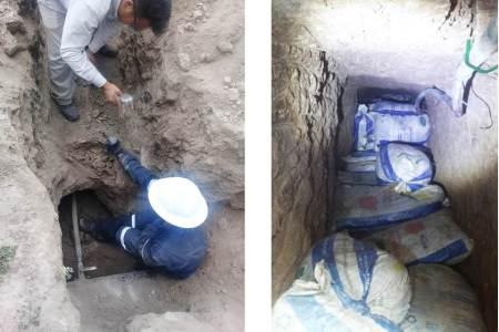 Descubren en Pachuca un túnel y toma clandestina en ducto de Pemex