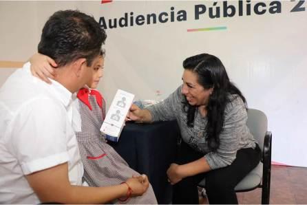 DIF Hidalgo ofrece audiencia pública y brinda apoyos a los solicitantes4