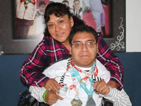 El deportista de boccia, Irving Montiel con miras a los Juegos parapanamericanos 2019