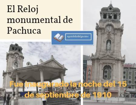 El Reloj Monumental de Pachuca, 108 aniversario