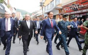 Encabeza gobernador Omar Fayad Grito de Independencia y Desfile Cívico Militar del 16 de septiembre4