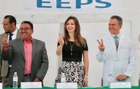Encuentro JUVENIMSS en la escuela secundaria de Hidalgo
