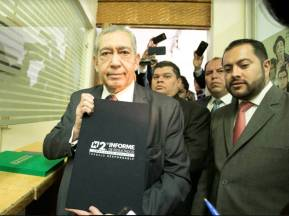 Entrega Secretario de Gobierno, Segundo Informe de Actividades del gobernador Omar Fayad Meneses 2