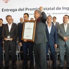 Entregan el Premio Estatal de Ingeniería Civil Roberto Gayol y Soto3