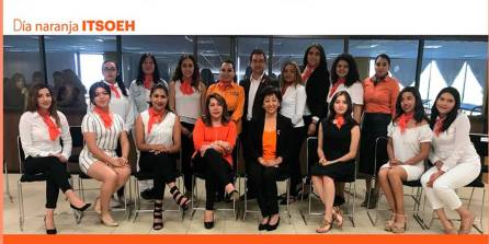 Estudiantes del ITSOEH generan acciones para erradicar la violencia contra las niñas y mujeres en el Día Naranja4