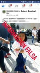 Falsos rumores de bandas de 'robachicos_ causan