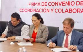 Firman convenio de colaboración Instituto Reyes Heroles y Colegio Libre de Hidalgo4