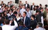 Gobernador acude al 2do informe de actividades en Acaxochitlán6