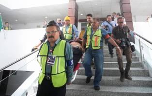 Gobierno de Hidalgo participó en Macro Simulacro Nacional 20183