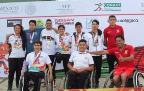 Hidalgo obtiene resultados históricos en la Paralimpiada Nacional 20184