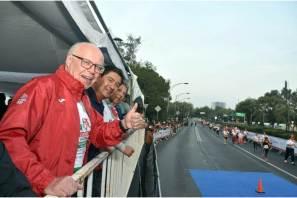 Hidalgo participa en la 4ª. Carrera Nacional #MoviendoAMéxicoPorTuSalud