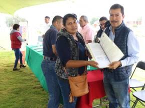 IMDUyV Contribuye a la regularización y escrituración de asentamientos irregulares1