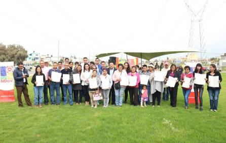 IMDUyV Contribuye a la regularización y escrituración de asentamientos irregulares4