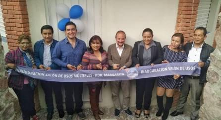 Inaugura Mineral de la Reforma salón de usos múltiples en Hacienda Margarita5