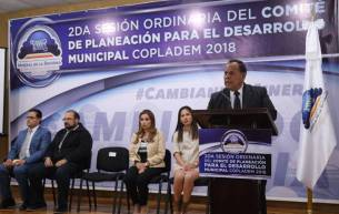Informan avances del Plan de Desarrollo Municipal de Mineral de la Reforma durante 2da Sesión de COPLADEM 3