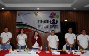 INHIDE realiza segunda Reunión Estatal del Deporte4