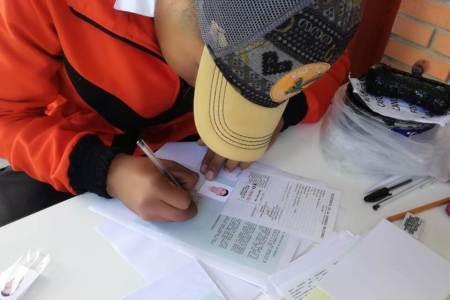 Junta de Reclutamiento de Santiago Tulantepec implementa módulos de atención en bachilleratos