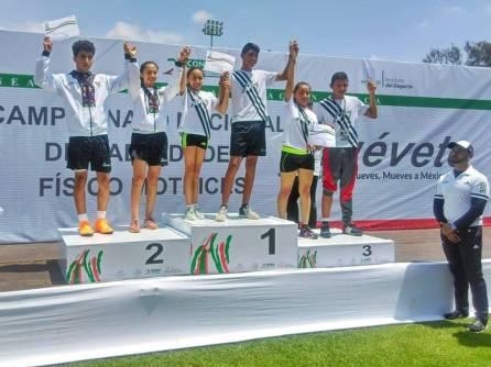 Oro y plata para Hidalgo en el Campeonato Nacional de Habilidades Físico Motrices3
